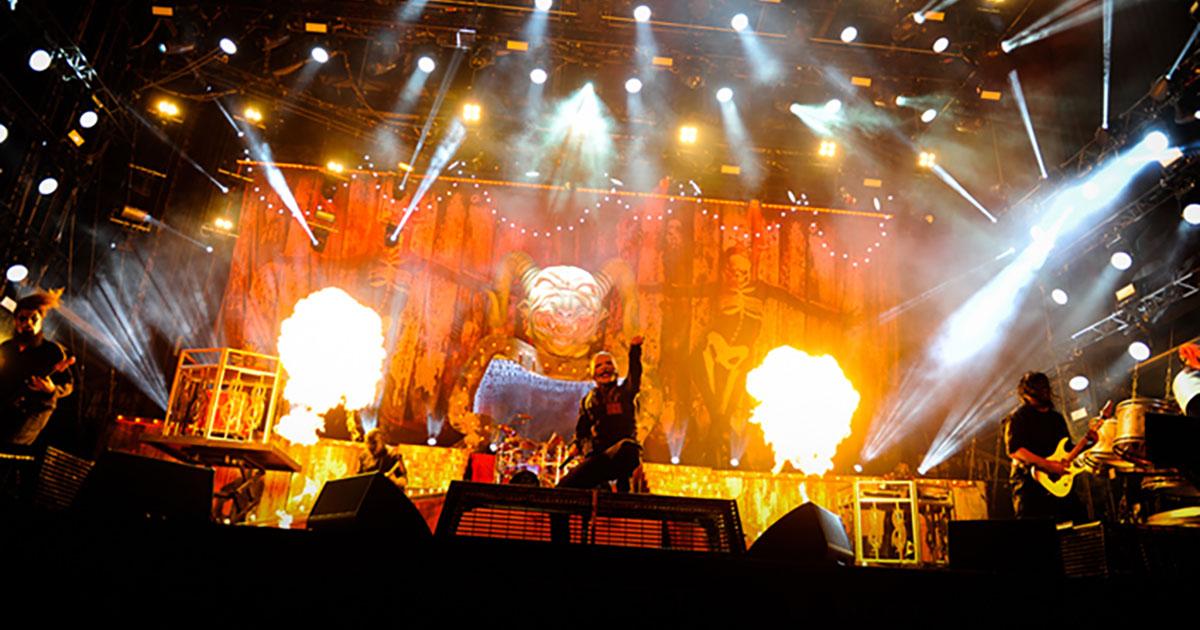 Slipknot: Corey Taylor und Co. übertragen Gig bei Rock am Ring live