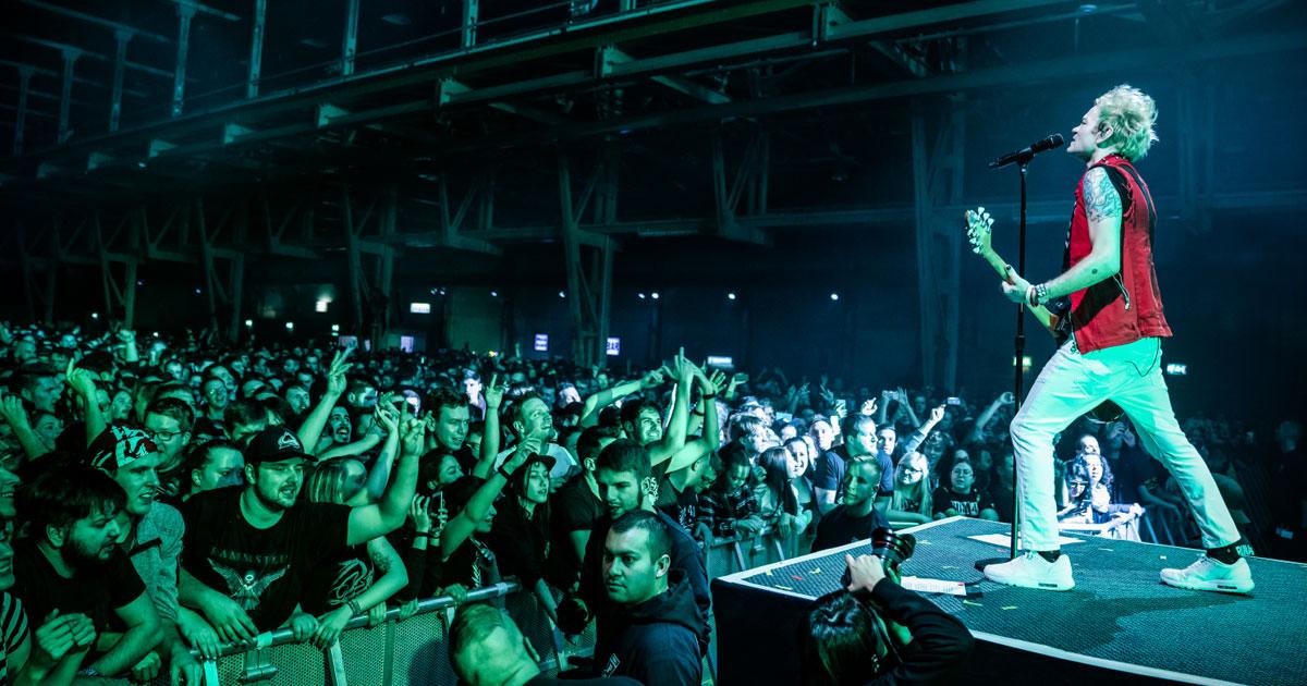 Sum 41 live 2020: Die Fotos vom Konzert in München