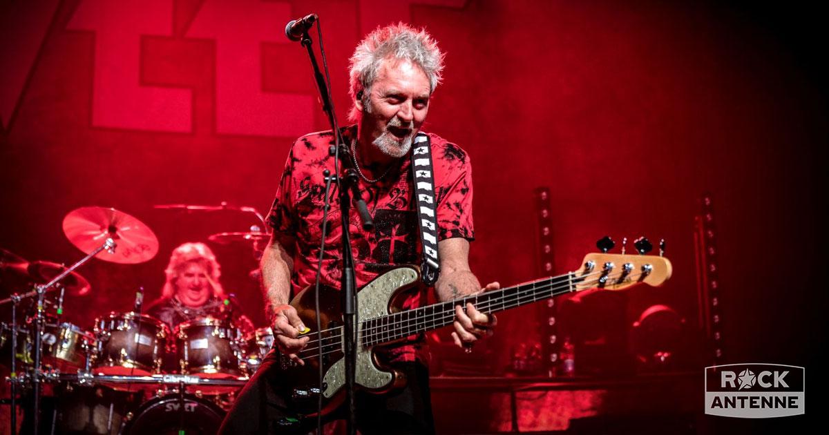 Sweet live 2019: Die Fotos vom letzten Konzert mit Pete Lincoln