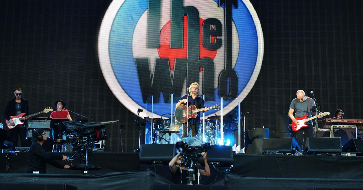 """The Who: Erste Band auf dem neuen """"Music Walk Of Fame"""""""