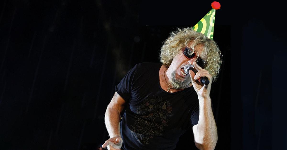 Mas Tequila: Ex-Van Halen-Sänger Sammy Hagar feiert 70.!