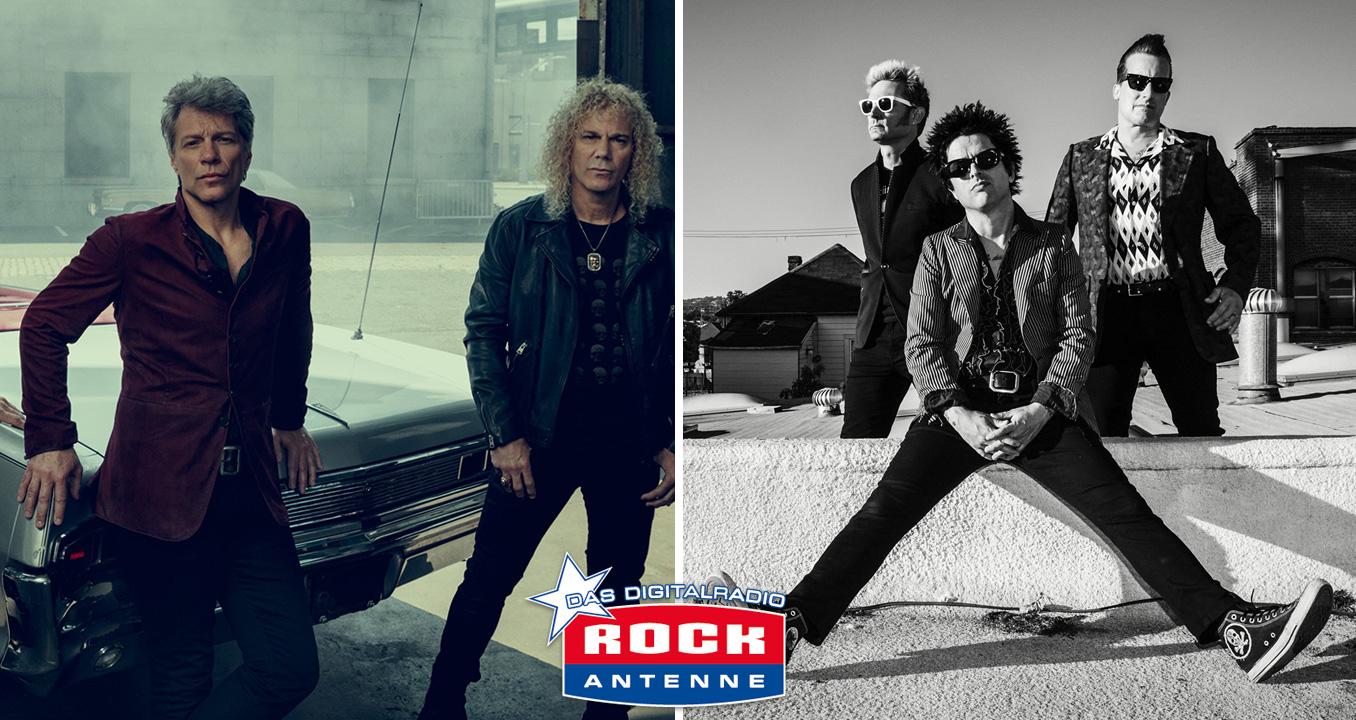 Neues von Bon Jovi und Green Day: Die große Radio-Doppelpremiere!