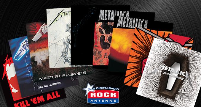 ReLoad 'Em All: Alle Metallica-Alben im Überblick
