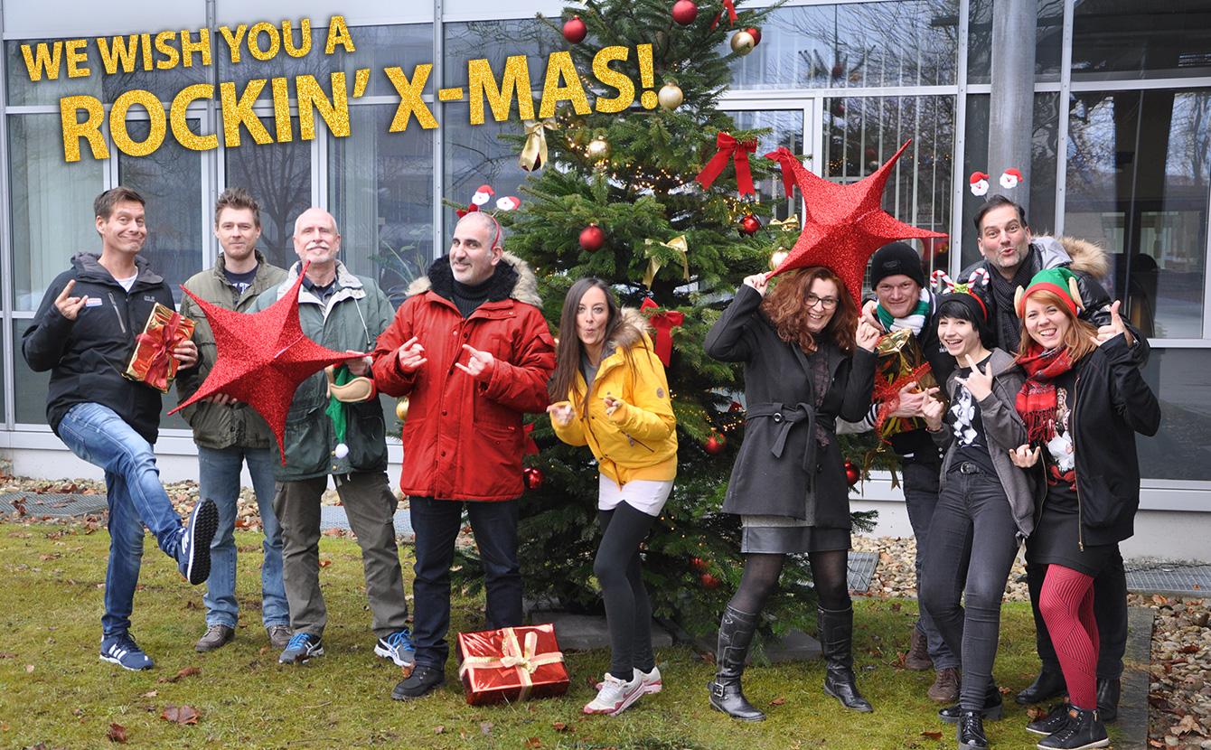 Have A Rockin' X-Mas - wir wünschen euch frohe Weihnachten!