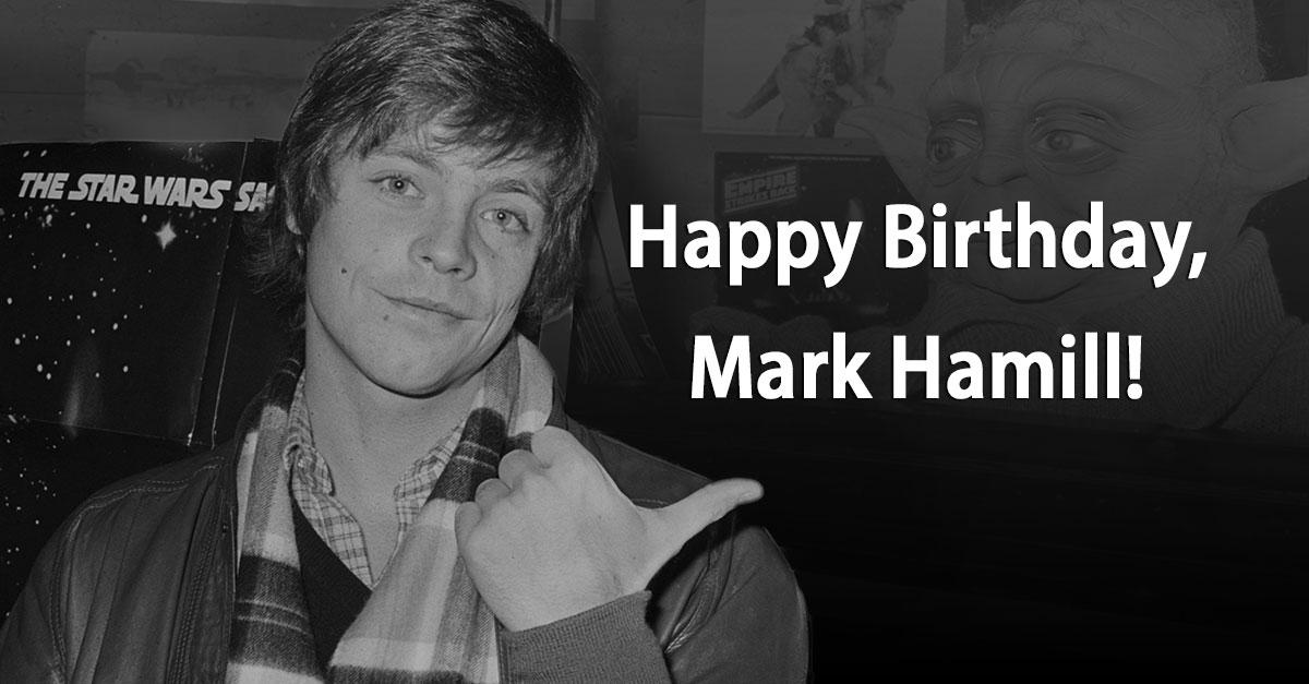 Luke Skywalker feiert 66.: Happy Birthday, Mark Hamill!