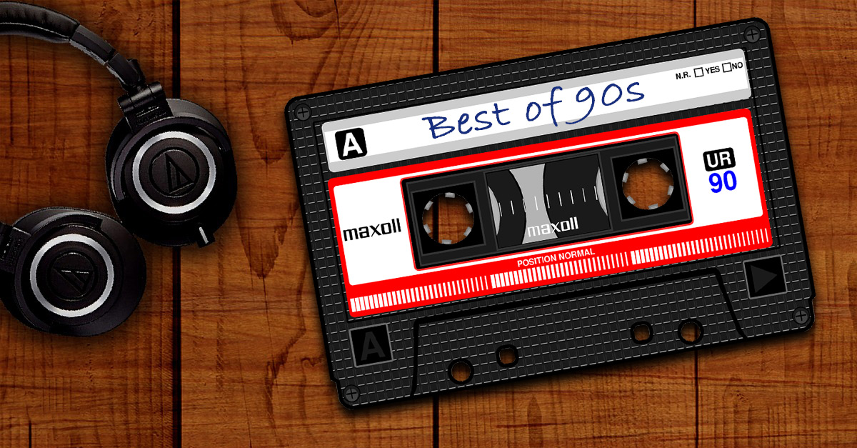 Die erfolgreichsten Rock-Platten der 90er