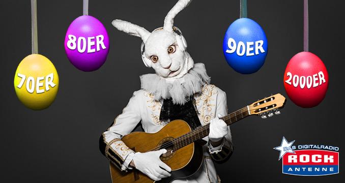 Die Oster-Charts auf ROCK ANTENNE: Eure Lieblingssongs der letzten 40 Jahre!
