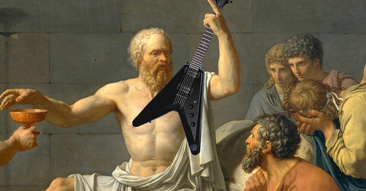 Rocker oder Philosoph - Wer hat's gesagt?