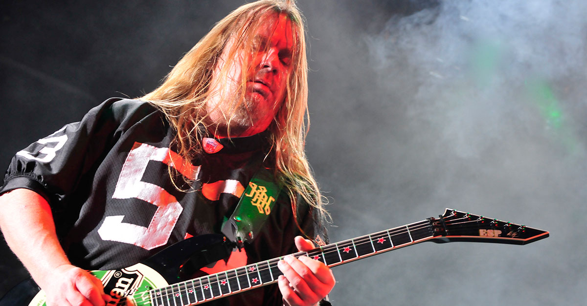 Jeff Hanneman: Unser Porträt zum Geburtstag des Slayer-Gitarristen