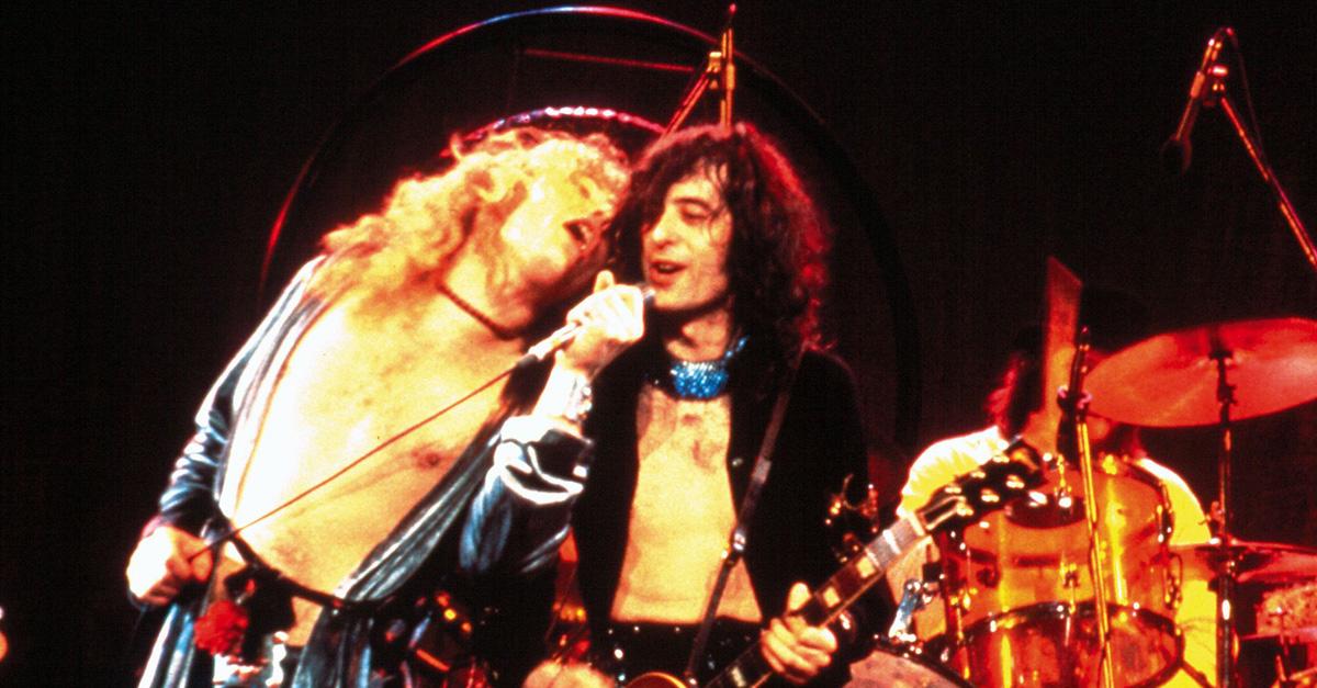 """Als Led Zeppelin zum ersten Mal """"Kashmir"""" performten"""