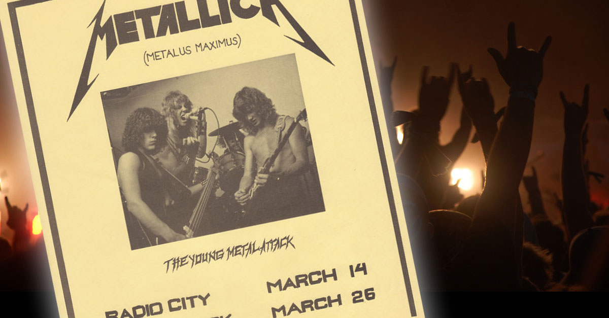 """""""Hit the Lights"""" - Metallica spielen ihre erste Show"""