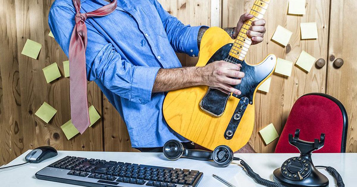 Arbeit rockt - mit dem Mini-Mittagspausenkonzert auf ROCK ANTENNE!