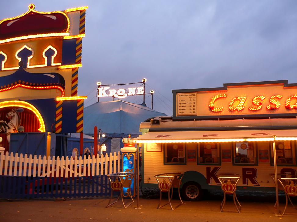 Teil 08: Der Circus Krone in München