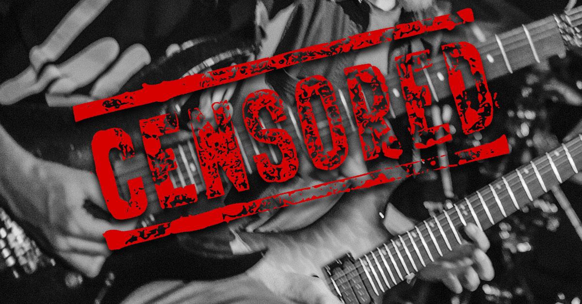 Hart an der Grenze: Diese Rocker landeten auf dem Index
