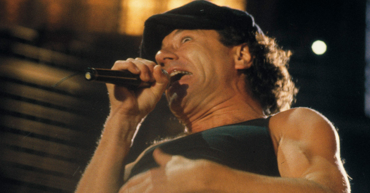 """We salute you"" - Alles Gute zum 70., Brian Johnson!"