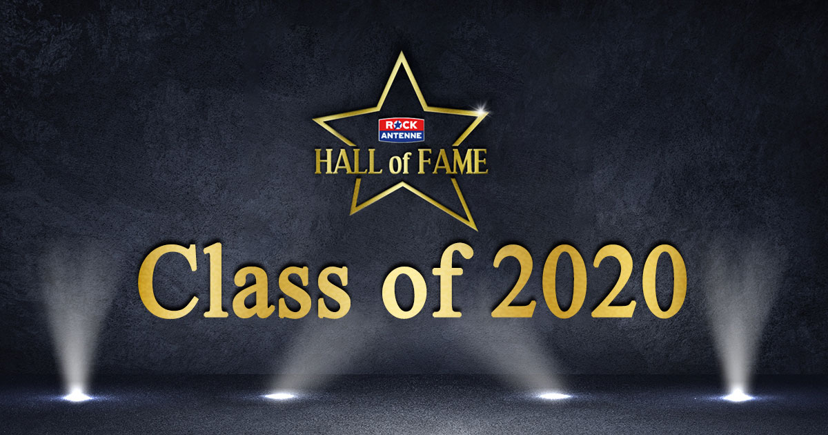 ROCK ANTENNE Hall of Fame: Das ist die Class of 2020