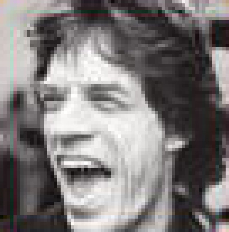 Mick Jagger kriegt eins auf die Fresse