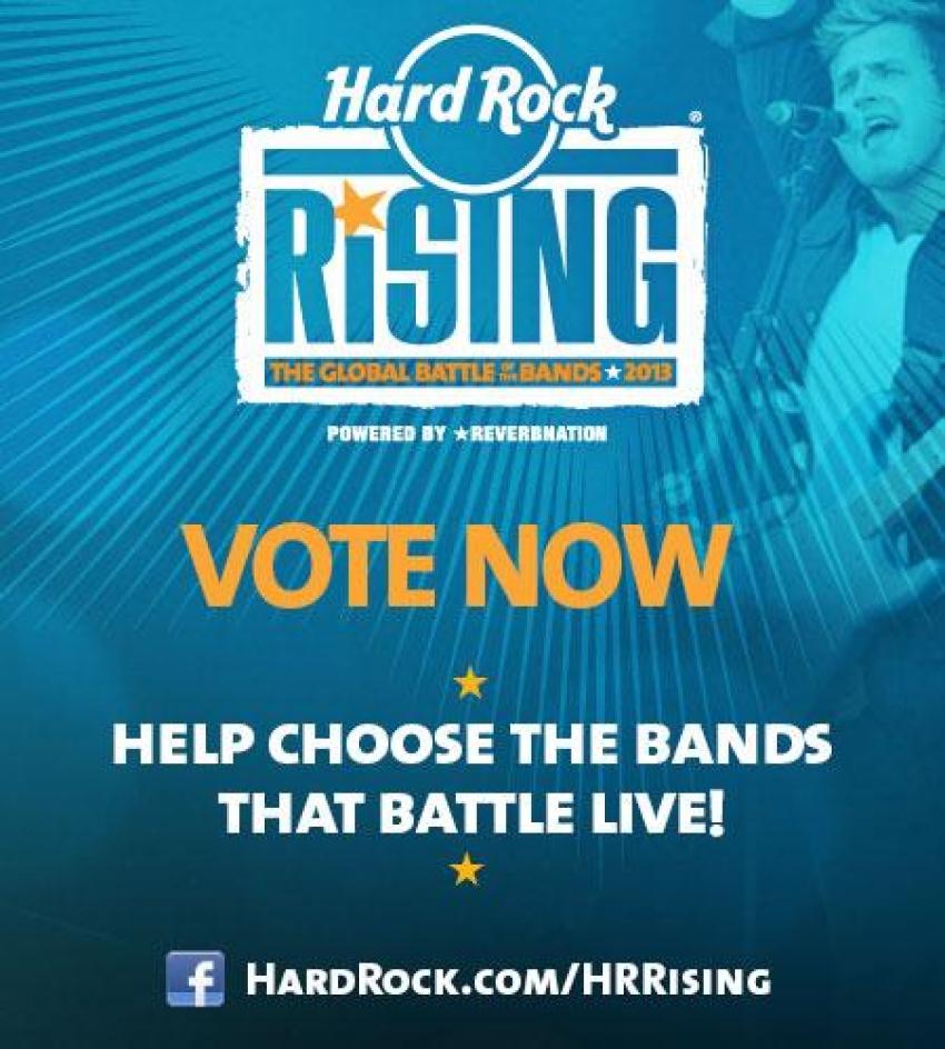 Hard Rock Cafe: Globaler Nachwuchs-Wettbewerb Hard Rock Rising