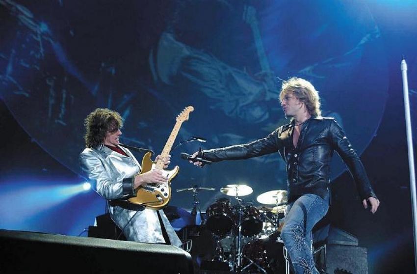 Jon Bon Jovi ist nicht auf Richie Sambora angewiesen