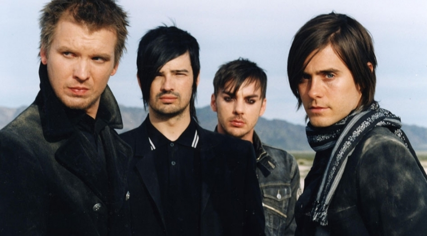 30 Seconds to Mars im Weltall