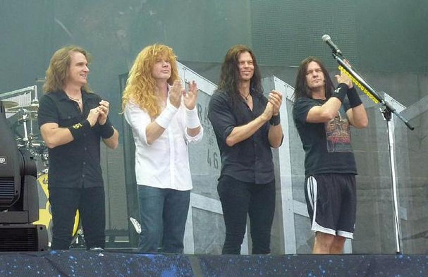 Megadeth sagen Konzerte ab!