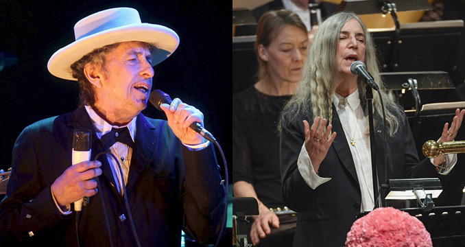 Bob Dylan erhält Nobelpreis - mit musikalischer Vertretung durch Patti Smith