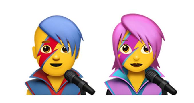 David Bowie bald als Smartphone-Emoji verewigt
