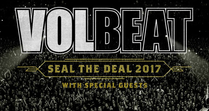 Seal the Deal 2017: Volbeat kündigen neue Europa-Tour an