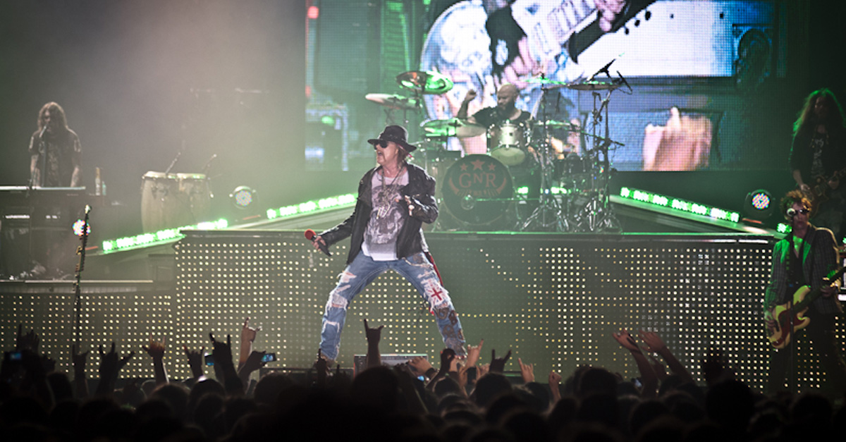 Guns N' Roses: Tour-Award für Axl Rose, Slash und Co.