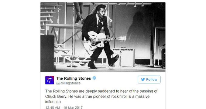 Rock in Peace, Chuck - Die Rockwelt nimmt Abschied