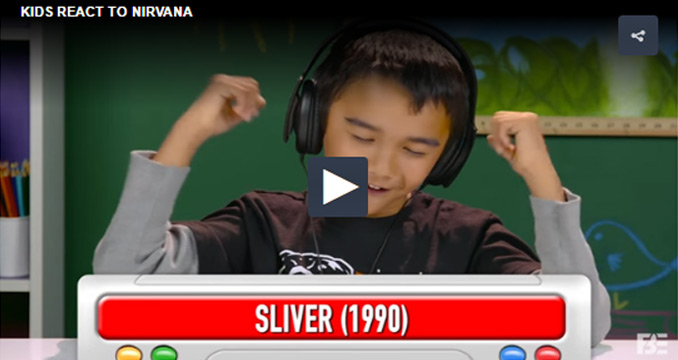 """""""Kids React to Nirvana"""": Das denken 8 bis 13-jährige über Grunge"""