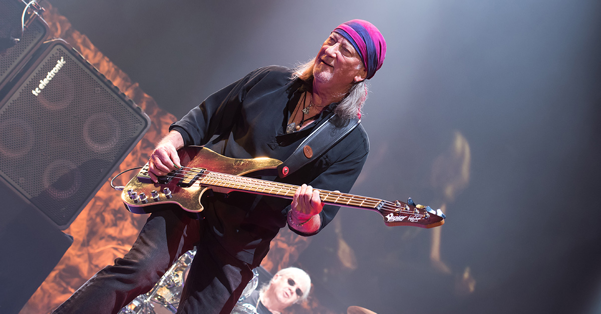 Happy Birthday, Highway Star! Roger Glover wird 72