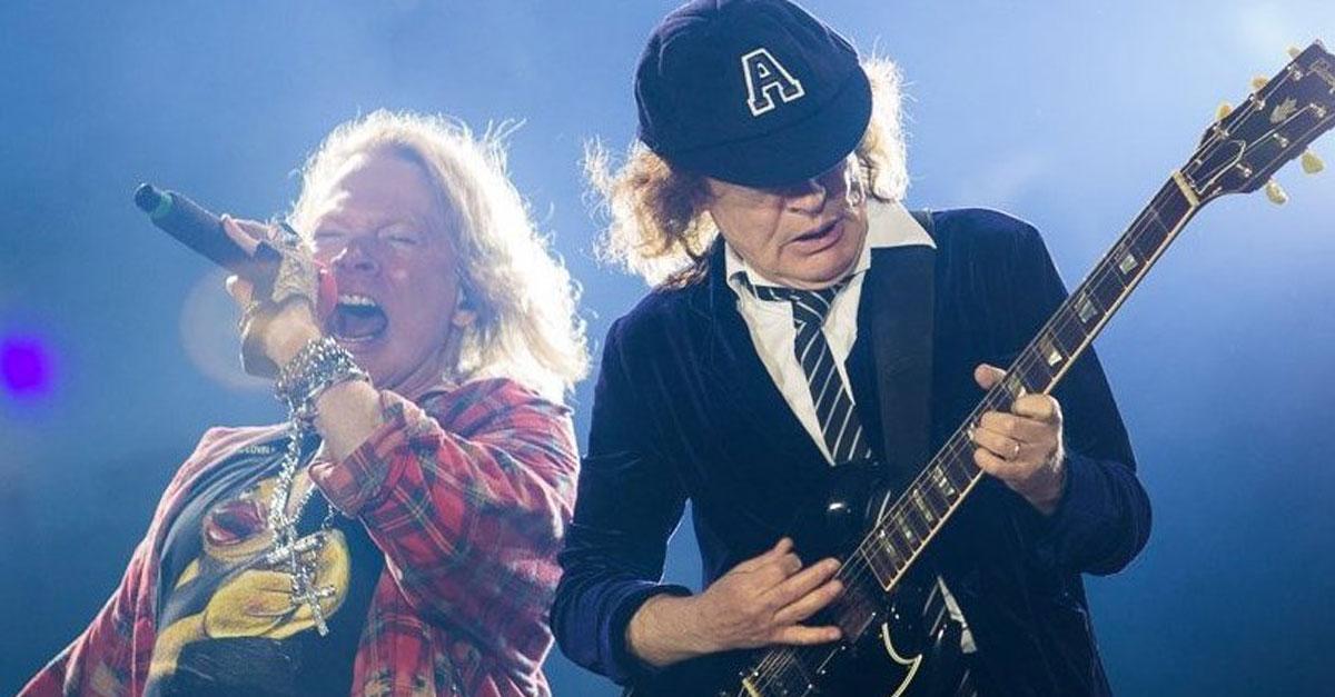 AC/DC: Neues Album mit Axl Rose?