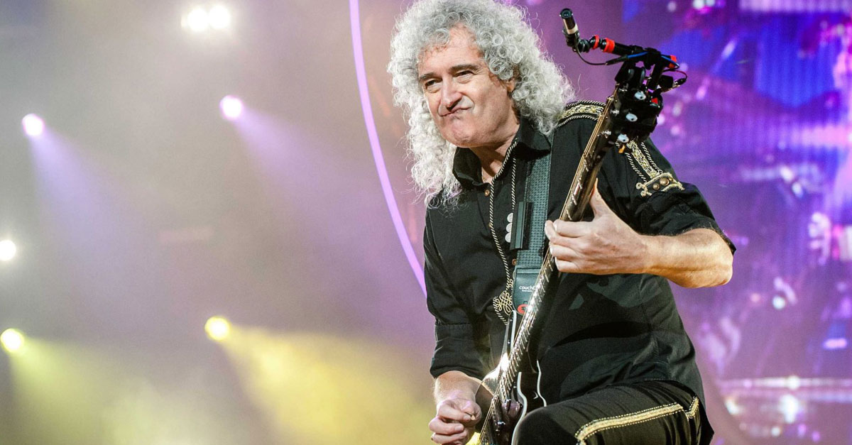 Rick Parfitt: Queens Brian May lobt posthume Soloplatte