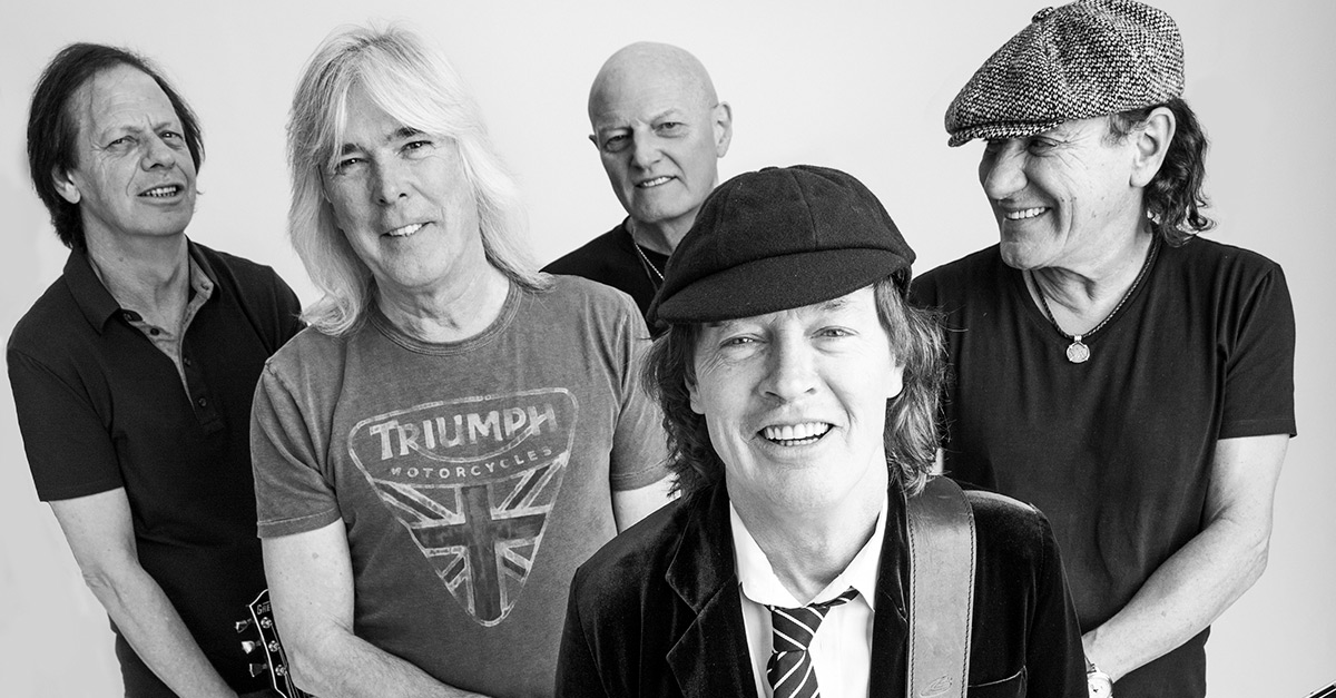 """AC/DC: Chris Slades """"Lippen sind versiegelt"""""""
