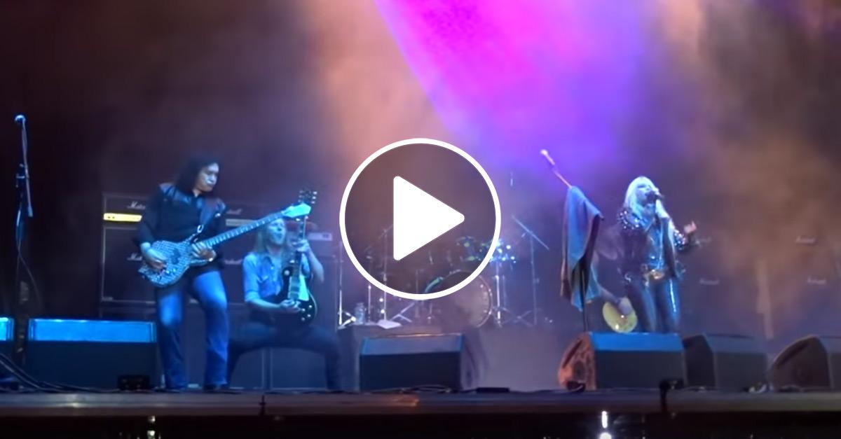 Video: Gene Simmons und Doro rocken die Bühne
