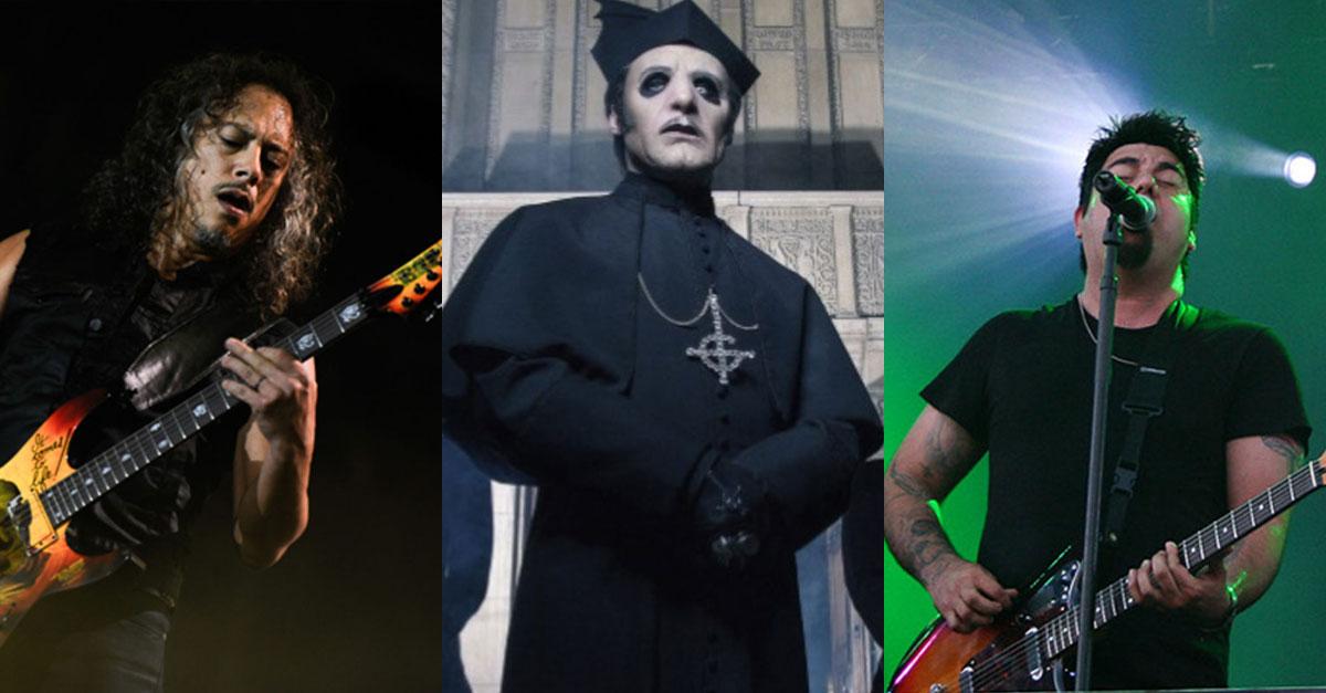 Ghost: Neues Video mit Kirk Hammett, Chino Moreno u.a.