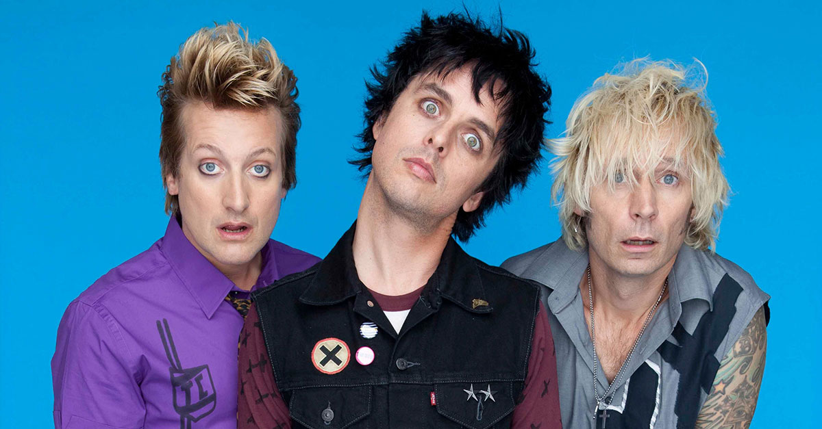 Green Day: Im Stile einer Achtziger Synthie-Band
