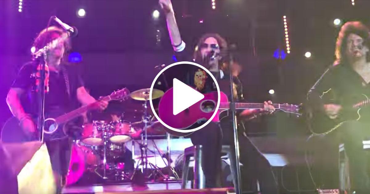 KISS: Live-Reunion mit Ace Frehley nach 17 Jahren
