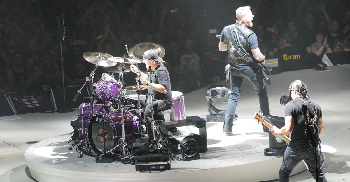 Metallica live: Die Fotos von der Mega-Show in München