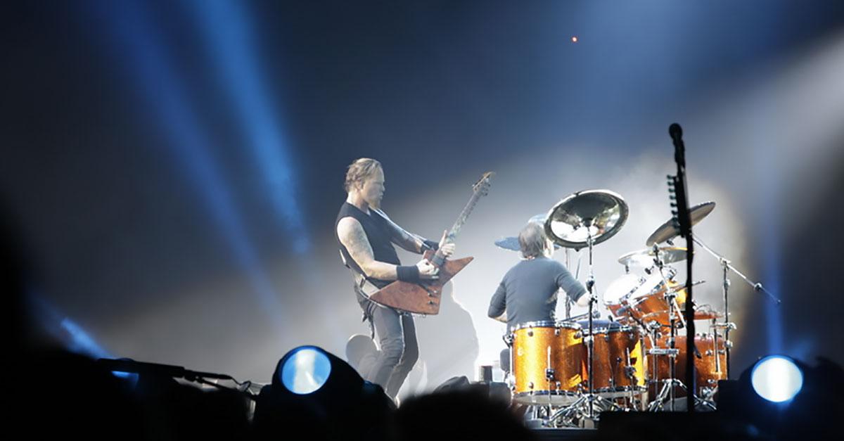 """Metallica: """"Battery"""" live aus Bologna"""