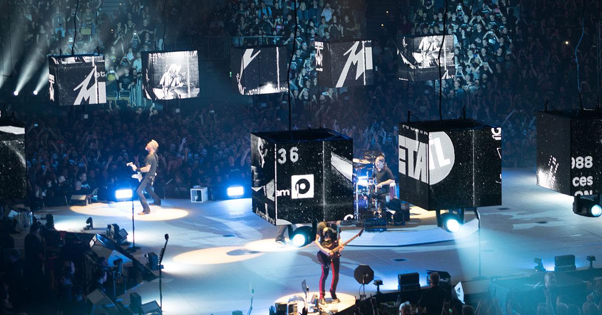 Metallica: Stadiontour durch Europa