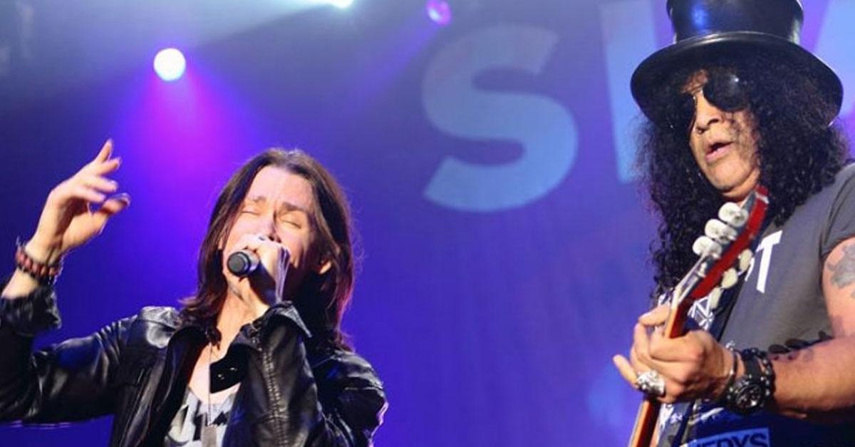 Slash: Neues Solo-Album mit Myles Kennedy schon fertig?