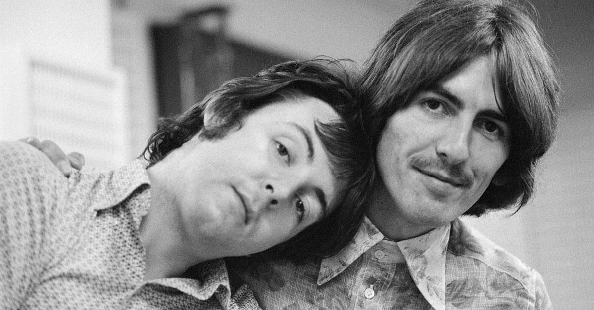 George Harrison: Paul McCartney erinnert sich mit Foto