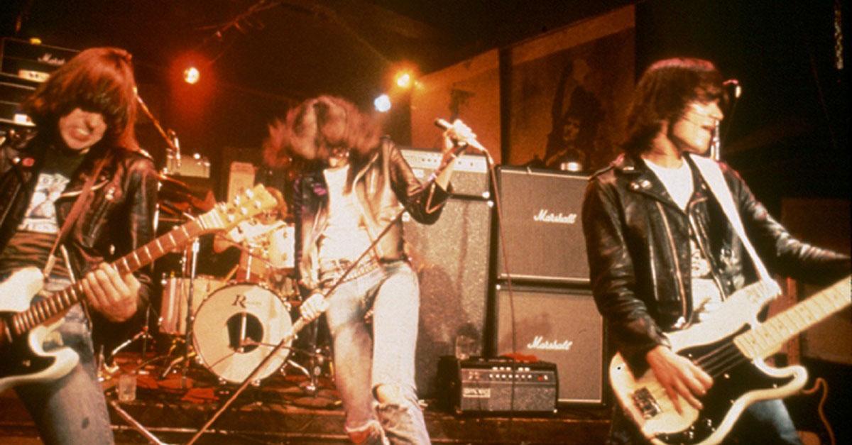 Punkrock-Legende: Johnny Ramone als Actionfigur