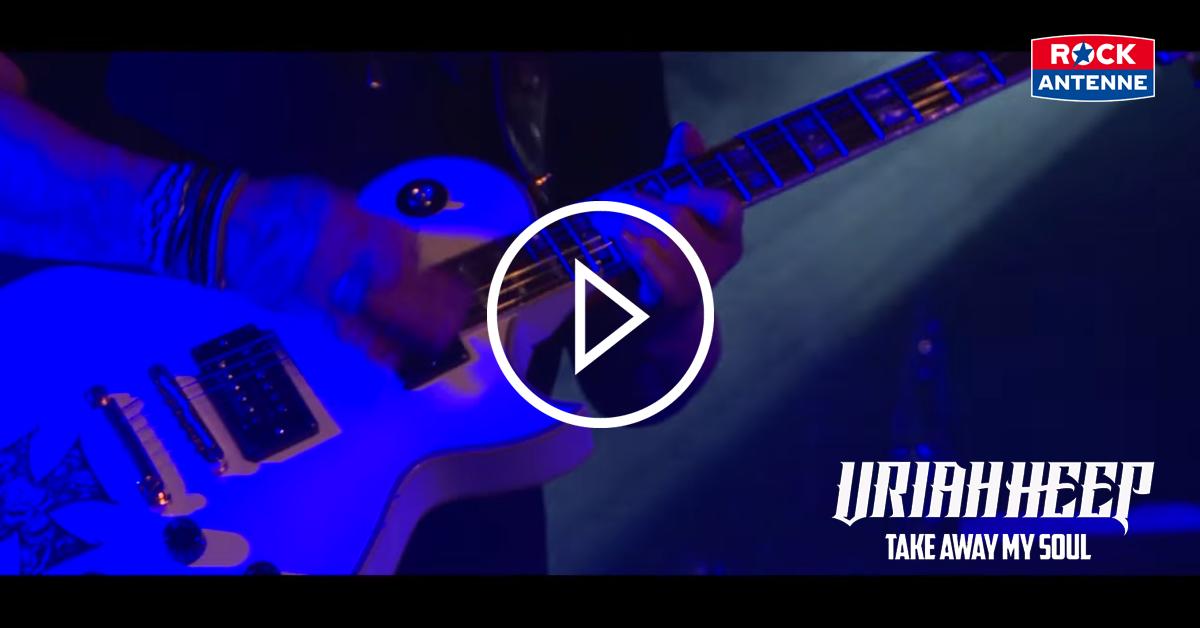 Uriah Heep: Seht das neue Video in der Weltpremiere auf ROCK ANTENNE!