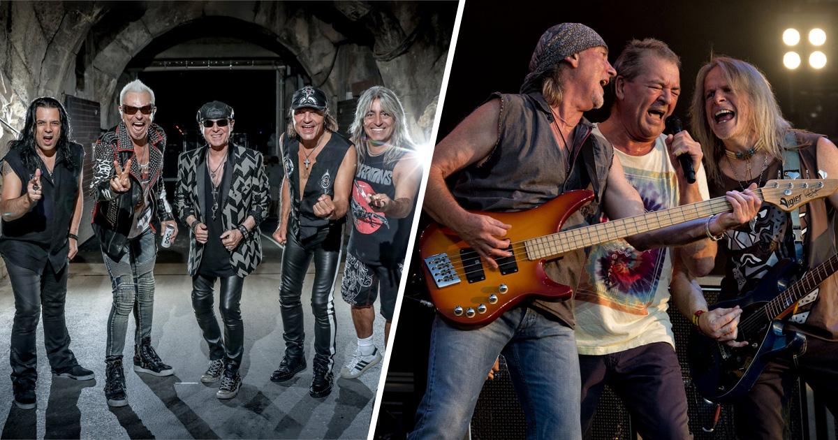 Neue Alben: Deep Purple und Scorpions kehren ins Studio zurück