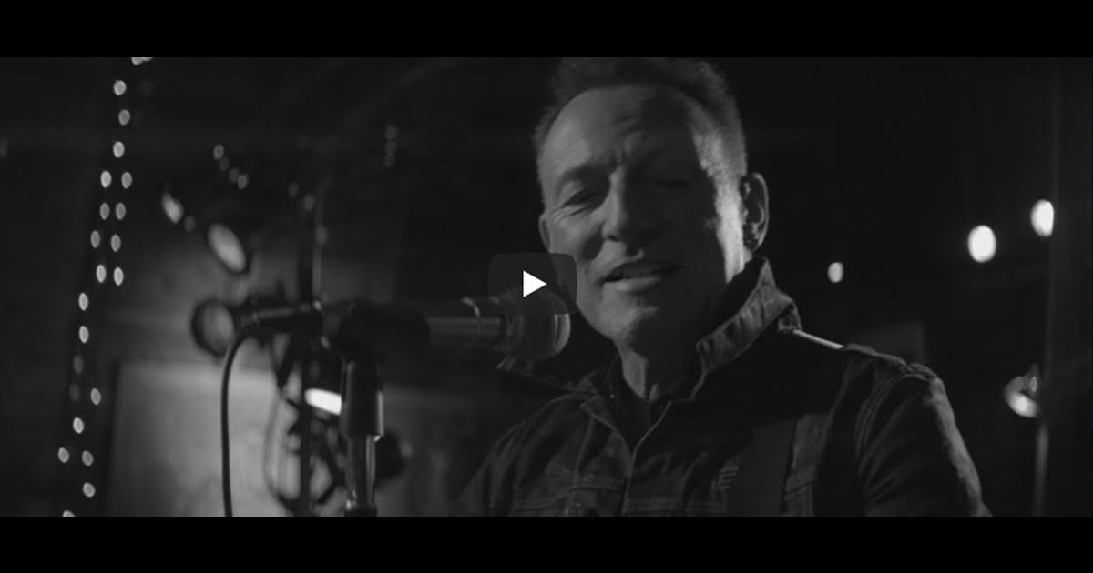 "Bruce Springsteen: Der neue Song ""Tucson Train"" im Video"