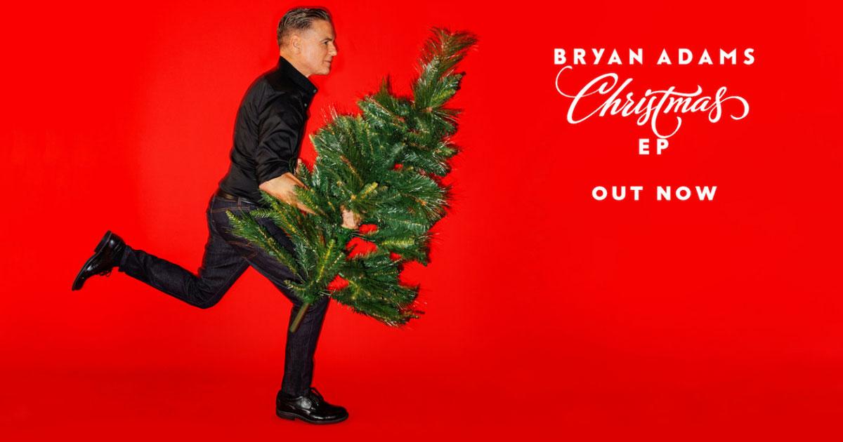 Bryan Adams: Neue Weihnachts-EP ist da