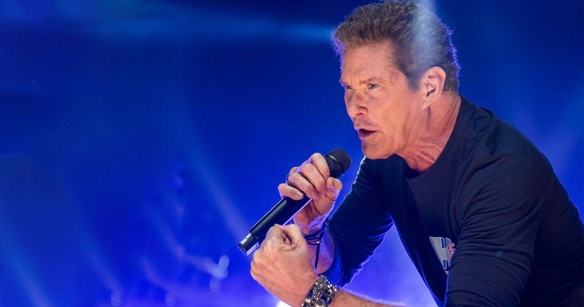 David Hasselhoff: The Hoff will Heavy Metal-Songs aufnehmen